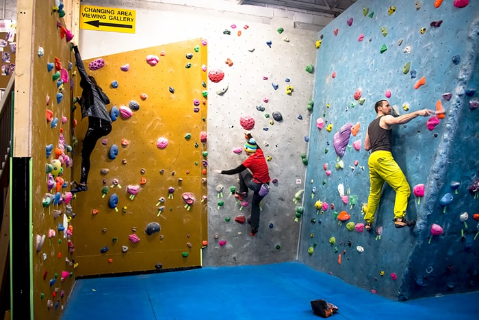 Fun for children of all ages at Durham Climbing Centre