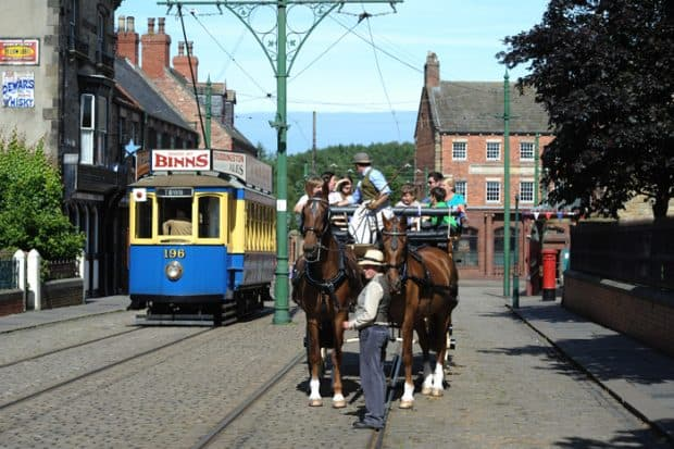 Enjoy the award winning Beamish Museum in County Durham, perfect for the whole family