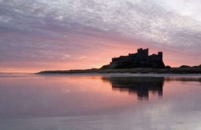 Bamburgh in Northumberland