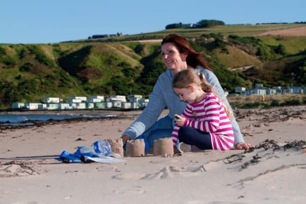Enjoy fun filled days on the beach at Pease Bay