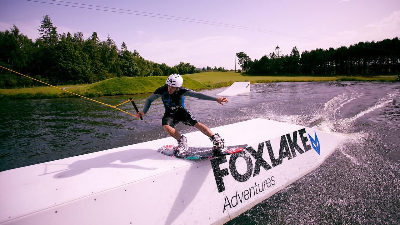 Wakeboarding, rope courses and segway adventures at Foxlake adventures