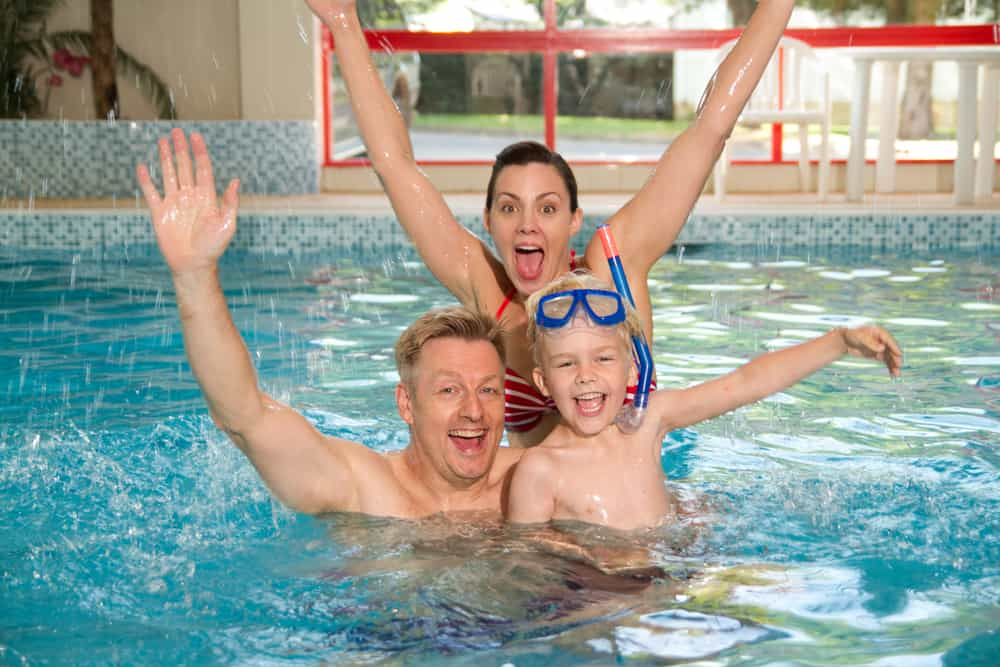 Family friendly facilities including indoor heated pool