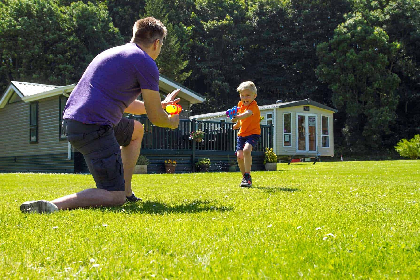 Enjoy the great outdoors on holiday at Thurston Manor