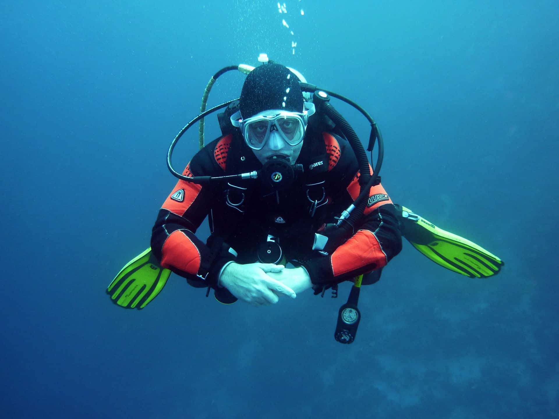 Take to the sea during your stay at Coldingham Bay diving