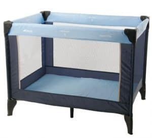 Travel cots available to hire
