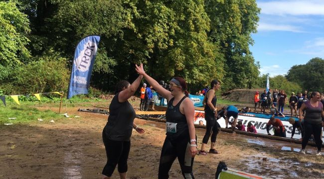Charity fundraising by Verdant Leisure at Tough Mudder in Cheshire