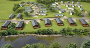 CGI of the Woodside phase two development at Riverside Leisure Park in Northumberland