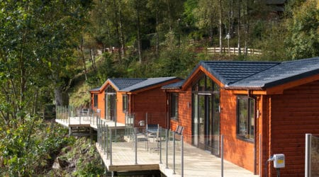 Woodland Lodges at Erigmore Leisure Park