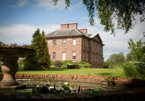 Enjoy a countryside stroll overlooking the River Tweed at Paxton House near Thurston Manor