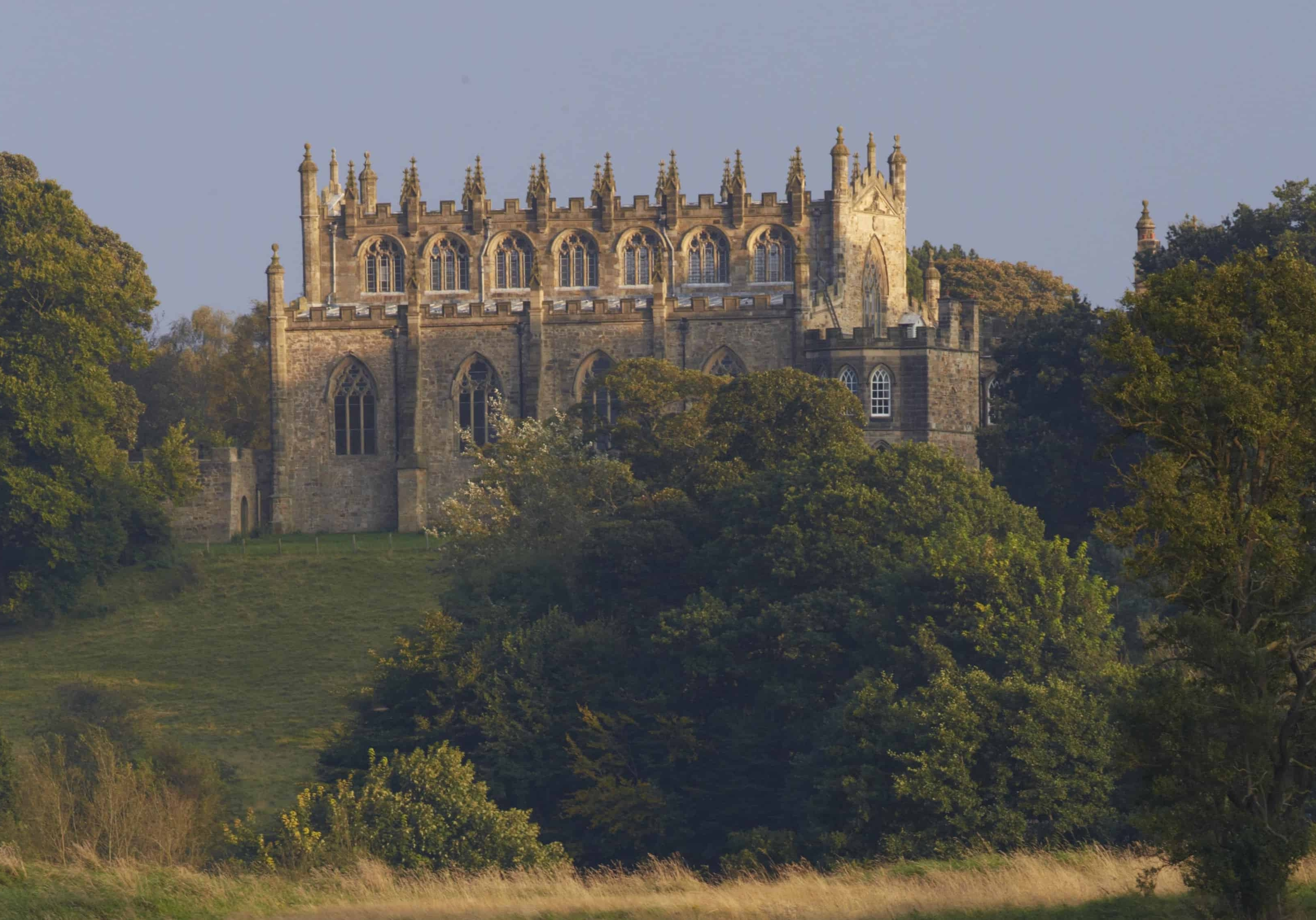 Enjoy the historic Auckland Castle and park near Heather View