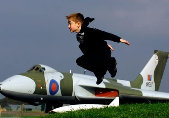 Discover the National Museum of Flight, great for kids near Thurston Manor