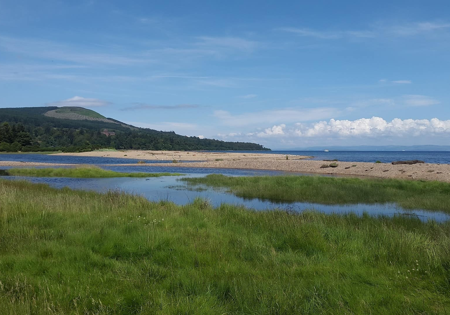 Take a day trip to the Isle of Arran with a ferry trip and coastal walks