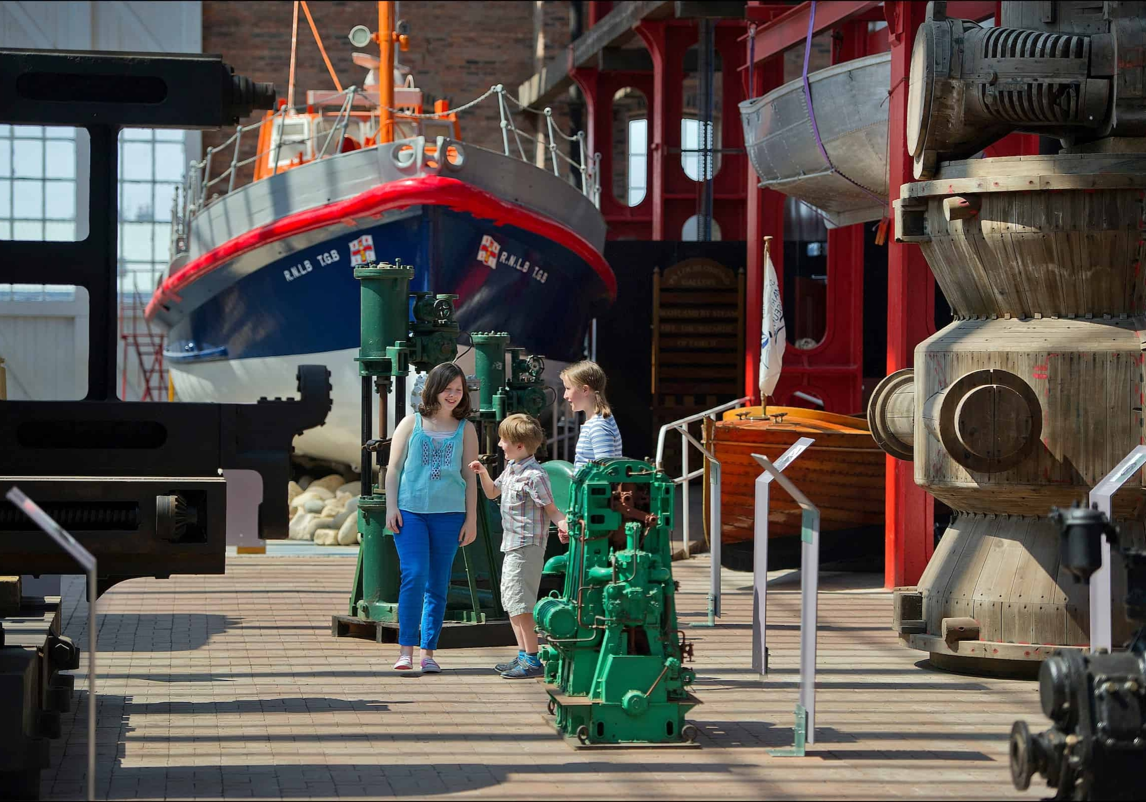 Days out for the kids at the Scottish Maritime Museum near Viewfield Manor
